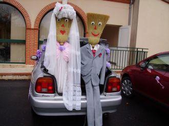 voiture balai natacha et thomas mariage le 11 juillet 2009 - Voiture Balai Mariage