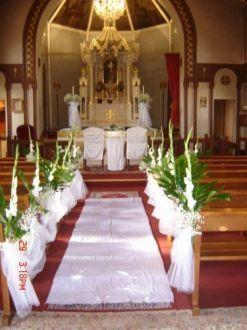 decoration mariage a l'eglise