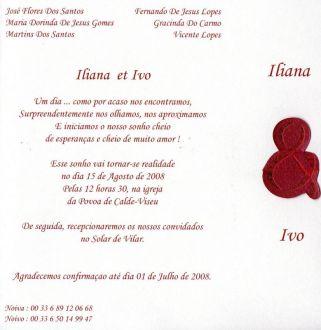 voici nos faire parts en portugais - Texte Faire Part Mariage Urne